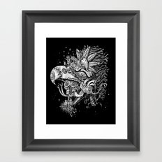 Eagle Warrior Framed Art Print