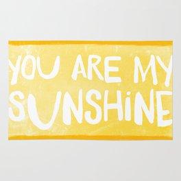 My Sunshine Love Rug