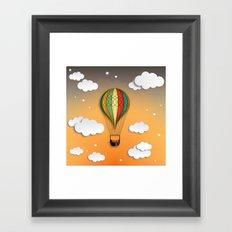 Balloon Aeronautics Dawn Framed Art Print