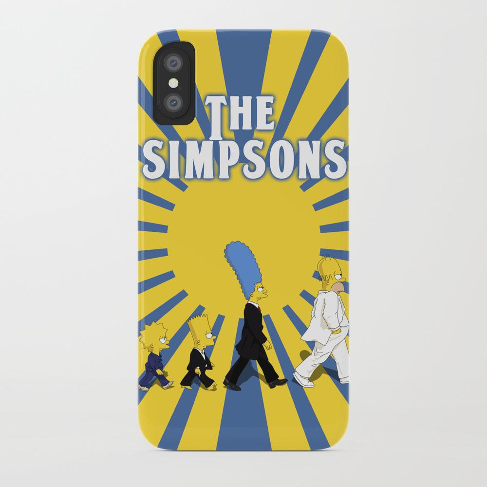 Simpson Sun Phone Case by Sgrunfo PCS2168830