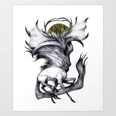 A Forest's Grace Art Print