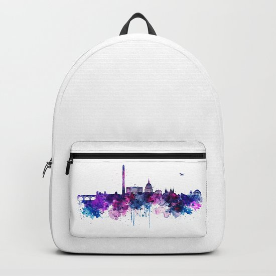 Washington DC Skyline Backpack