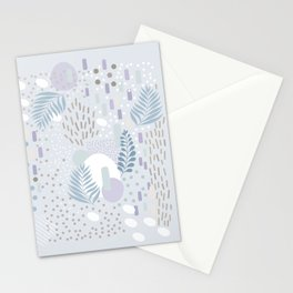 Close to Nature - Simple Doodle Pattern 2 #society6 #pattern #nature Stationery Cards