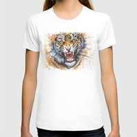 kpop T-shirts featuring Tiger by Olechka