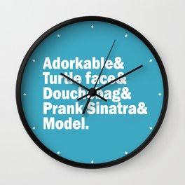 New Girl Squad. Wall Clock