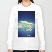 cloud Long Sleeve T-shirts featuring  Cloud by Sumii Haleem