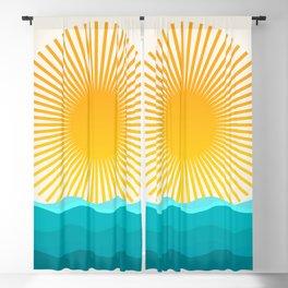 Sun and Sea Blackout Curtain