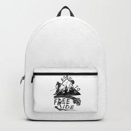 Born To Freeride Backcountry Skiing mo Backpack