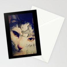 Broken Cat Stationery Cards