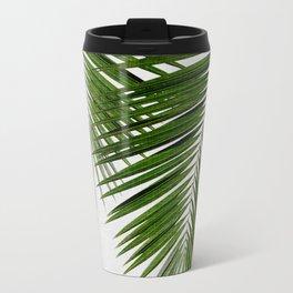 Palm Leaf II Metal Travel Mug