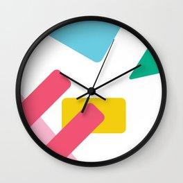 Wild Card Wall Clock