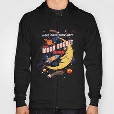 Rocket Moon Ride (vintage) Hoody