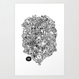 Oven Mitt Machine Art Print