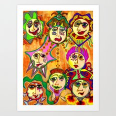 Good Gods Art Print