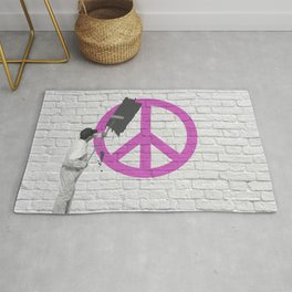 No Peace Allowed! Rug