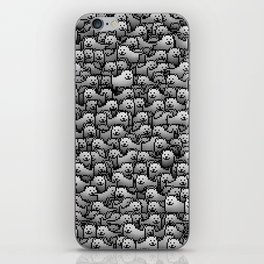 Annoying dogs iPhone Skin