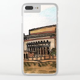 Philippines : Manila Central Post Office Clear iPhone Case