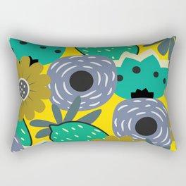 Fresh lemons and flowers Rectangular Pillow