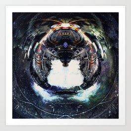 spacebug Art Print