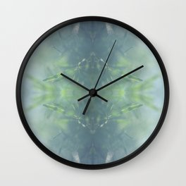 Nature Kaleidocope #8 Wall Clock