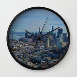 San Francisco Bay Bridge Wall Clock