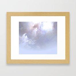 Misty World Framed Art Print