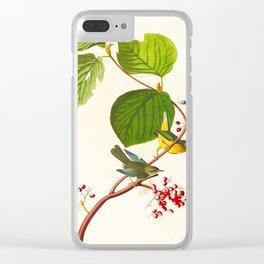 Pine Swamp Warbler Bird Clear iPhone Case