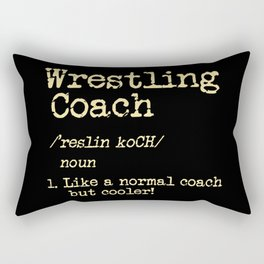Wrestling Coach Gift I Greco Roman I Cool Definition Rectangular Pillow