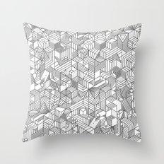 Complicity Throw Pillow
