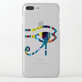 Anubis Clear iPhone Case