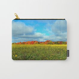 Autumn's Contrasts Carry-All Pouch