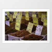 spice Art Prints featuring Spice by SunnyNomad