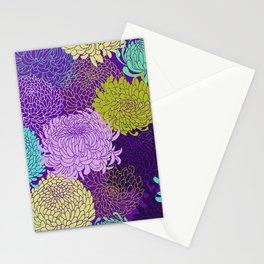 Chrysanthemum blossom Stationery Cards
