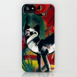 "Franz Marc ""Three Cats (Drei Katzen)"" iPhone Case"