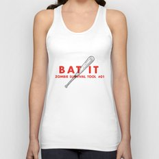 Bat it - Zombie Survival Tools Unisex Tank Top