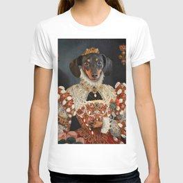 Queen Dixie - Dachshund Art T-shirt