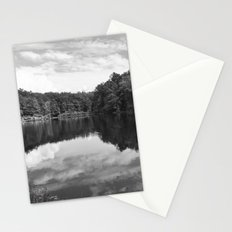 Clouds On The Lake Stationery Cards