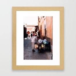 Traveling Salesman  Framed Art Print