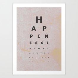 Happiness (4) Art Print