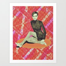 SIXTIES Art Print