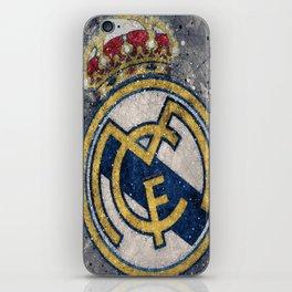 Real Madrid CF : Best Futbol Club iPhone Skin