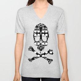 Saber Skulls Unisex V-Neck