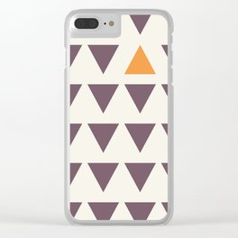 All down - You up Clear iPhone Case