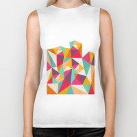 diamond Biker Tanks featuring Diamond by Kakel