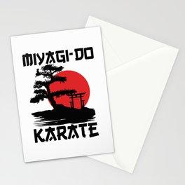 Retro Vintage Miyagi-Do Karate Life Bonsai Tree Martial Arts T-Shirt Stationery Cards