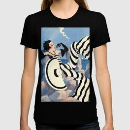 French Art Deco Woman T-shirt