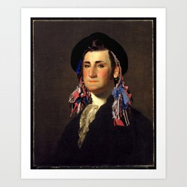 Boy George Washington Art Print