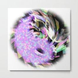 Splash of color Metal Print