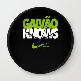 Galvão Knows - WiFIW!! Series Wall Clock