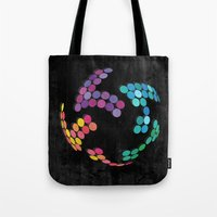 globe Tote Bags featuring Globe by Last Call